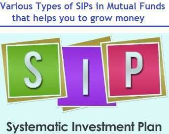 Types of SIPs in Mutual Funds