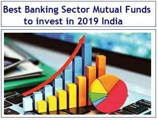 Top and Best Banking Sector Mutual Funds to invest in 2019 India