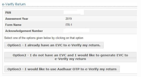 Step-4- Step-by-Step to Verify ITR without logging into e-Filing account-min