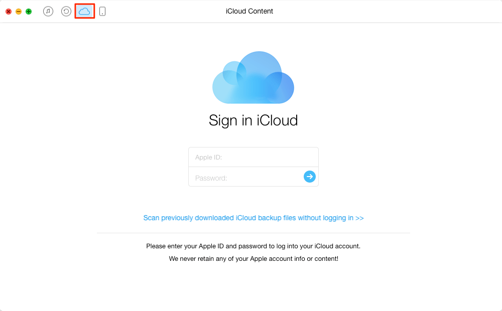 How to Download iCloud backup to PC/Mac