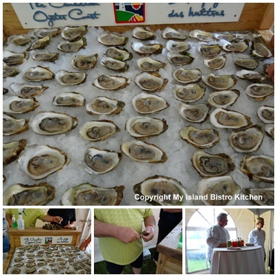 World-famous PEI Oysters