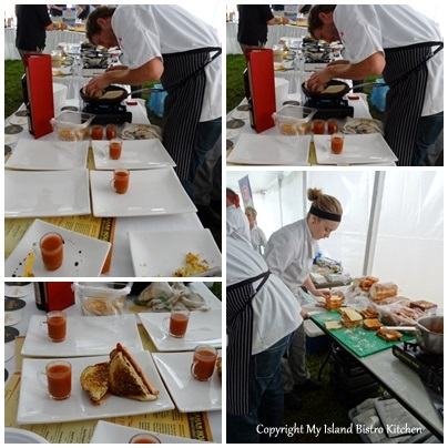 Winning Entry from Chef Dwayne MacLeod, Gahan House