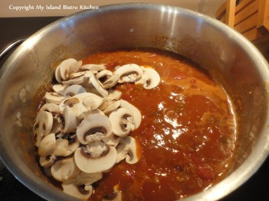 Adding Mushrooms