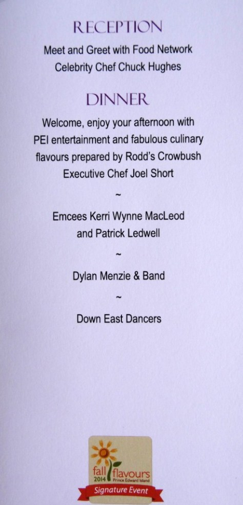 "Program for ""Lamb Luau"""