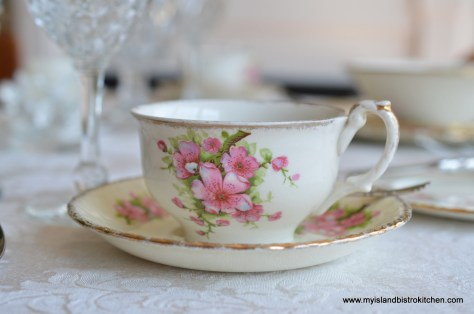 "Grindley's Creampetal ""Apple Blossom"" China Pattern"