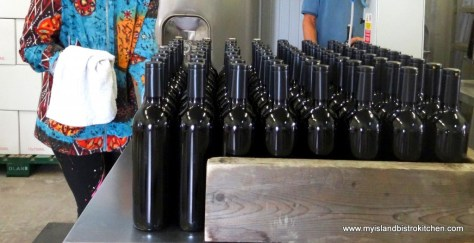Freshly Bottled Wine