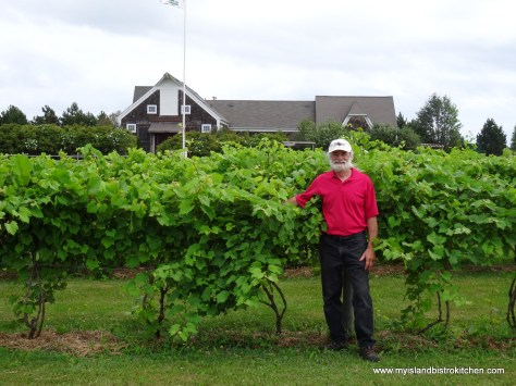 John Rossignol, owner, Rossignol Winery, Little Sands, PEI