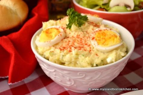 My Island Bistro Kitchen's Potato Salad