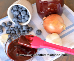 Blueberry Barbeque Sauce