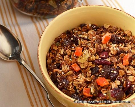 The Bistro's Great Nut-Free Granola