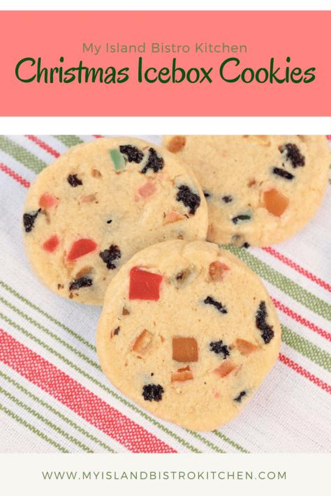 Christmas Icebox Cookies