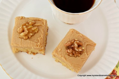 Gluten-free Brown Sugar Fudge Square