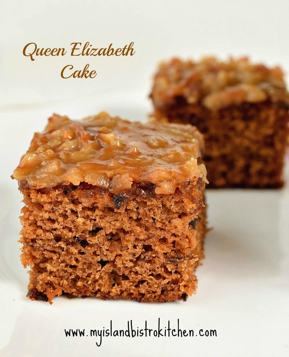 Queen Elizabeth Cake Recipe Coconut