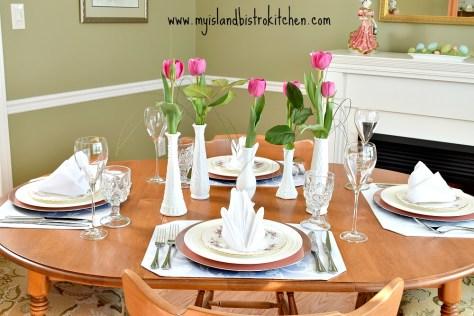 Springtime Tablescape