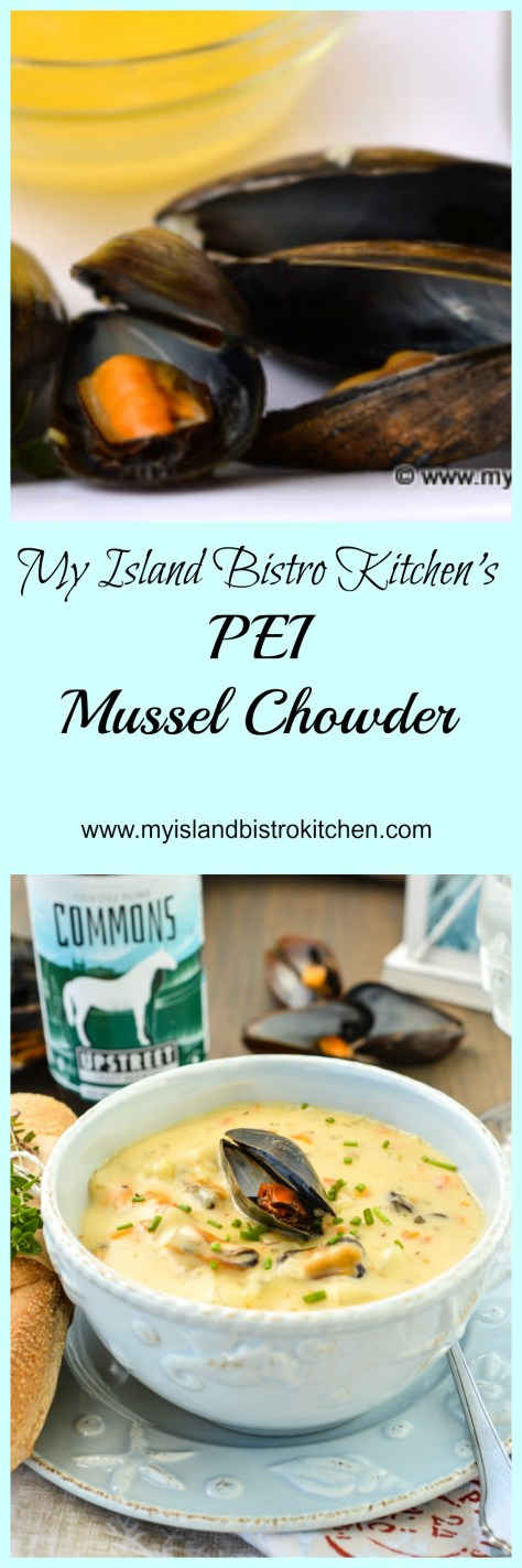 My Island Bistro Kitchen's PEI Mussel Chowder