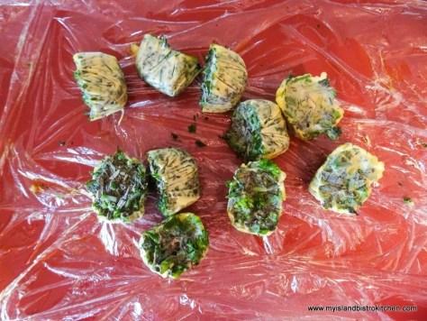 Frozen Herb Cubes