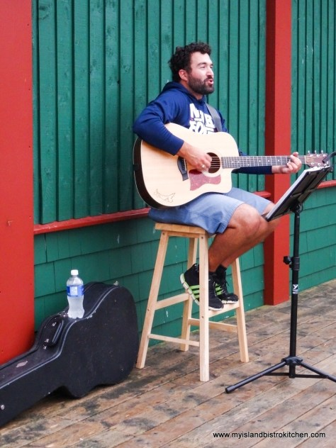 "PEI Musician, Taylor Johnson, Entertains Patrons at ""Taste of Georgetown"" Event"
