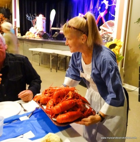 "At the PEI Fall Flavours 2017 event, ""Le Festin acadien avec homard"""