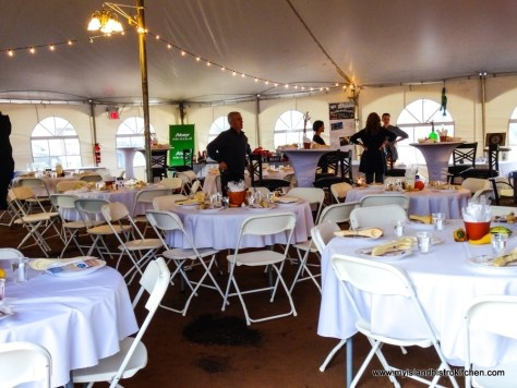 Tables at Taste of North Rustico Event 2017