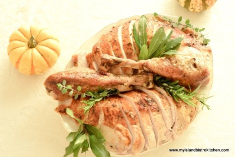 Plated Carved Turkey
