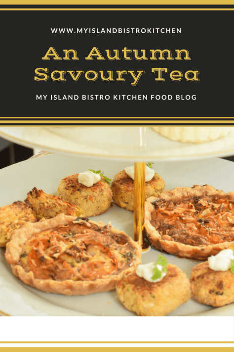 An Autumn Savoury Tea