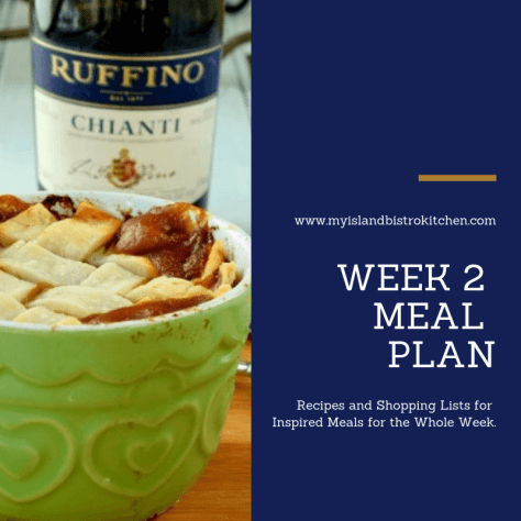 Week 2 Meal Plan