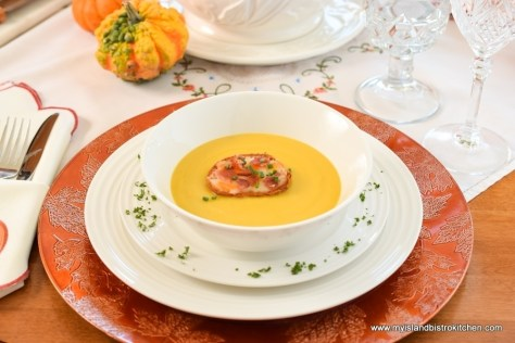 Classic Roasted Butternut Squash Soup