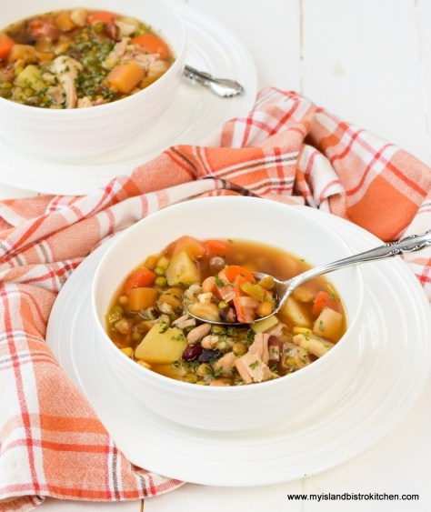 Homemade Turkey Vegetable Soup