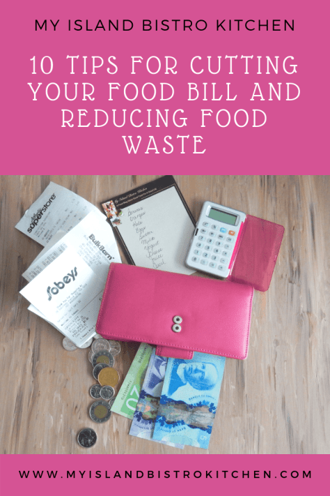 Tips for Cutting Food Bill and Reducing Food Waste