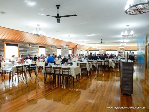 Interior of New Glasgow Lobster Suppers, New Glasgow, PEI