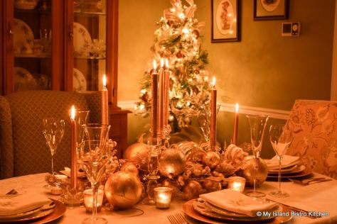 Candlelight Tablesetting