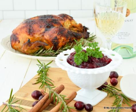 Red Wine Cranberry Pear Sauce