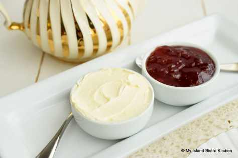 Jam and Cream for Scones