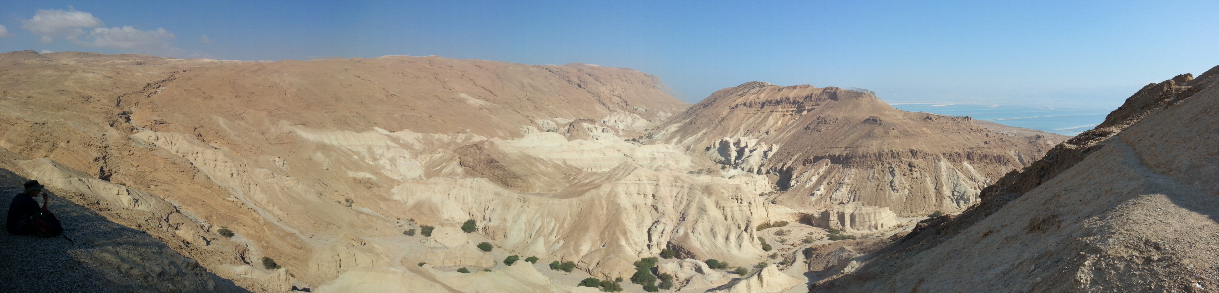 View from Meitzad Zohar Viewpoint