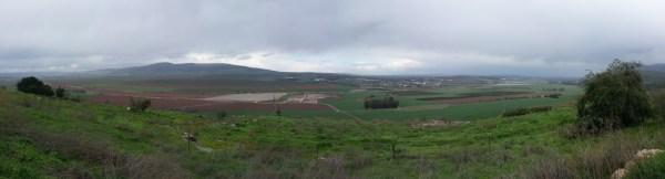 View from Tel Jezreel