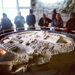 Model of the Israelite city at Tel Meggido