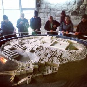 Model of the Israelite city at Tel Meggido