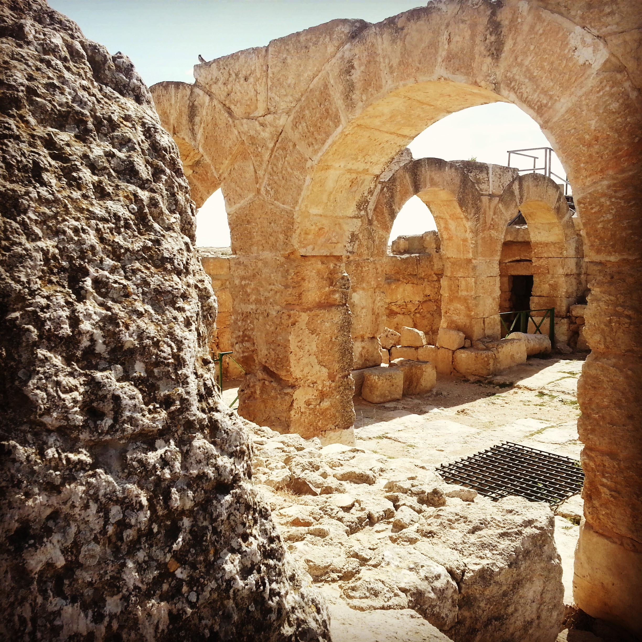 Byzantine era synagogue at Susya