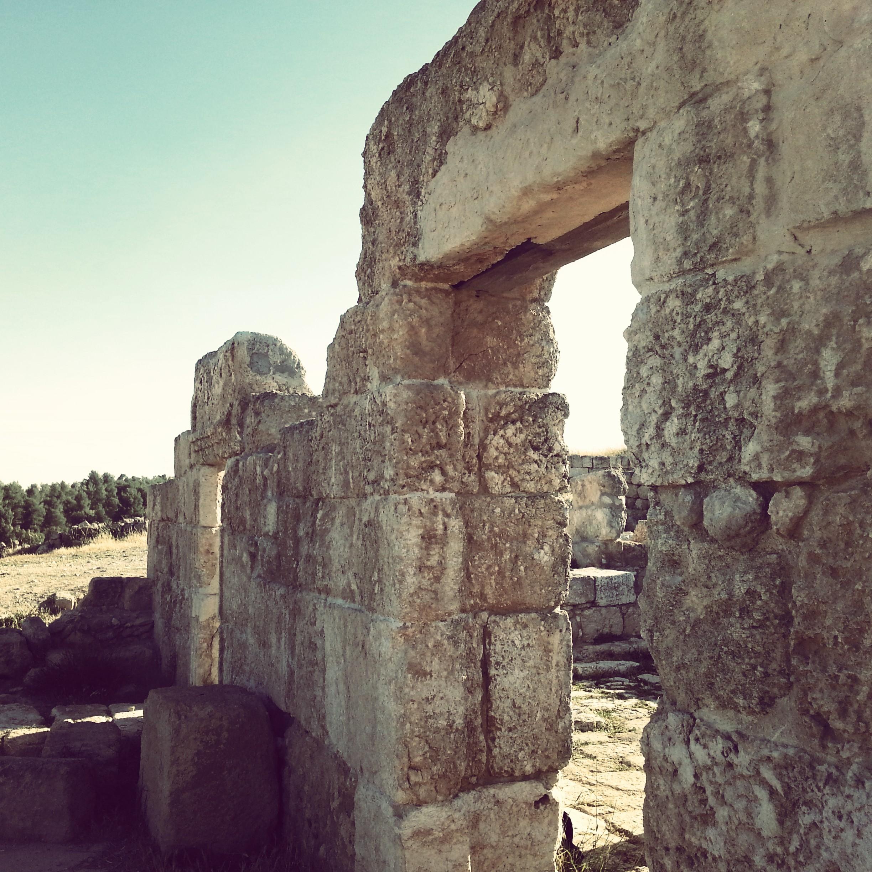 Byzantine era synagogue at Anim