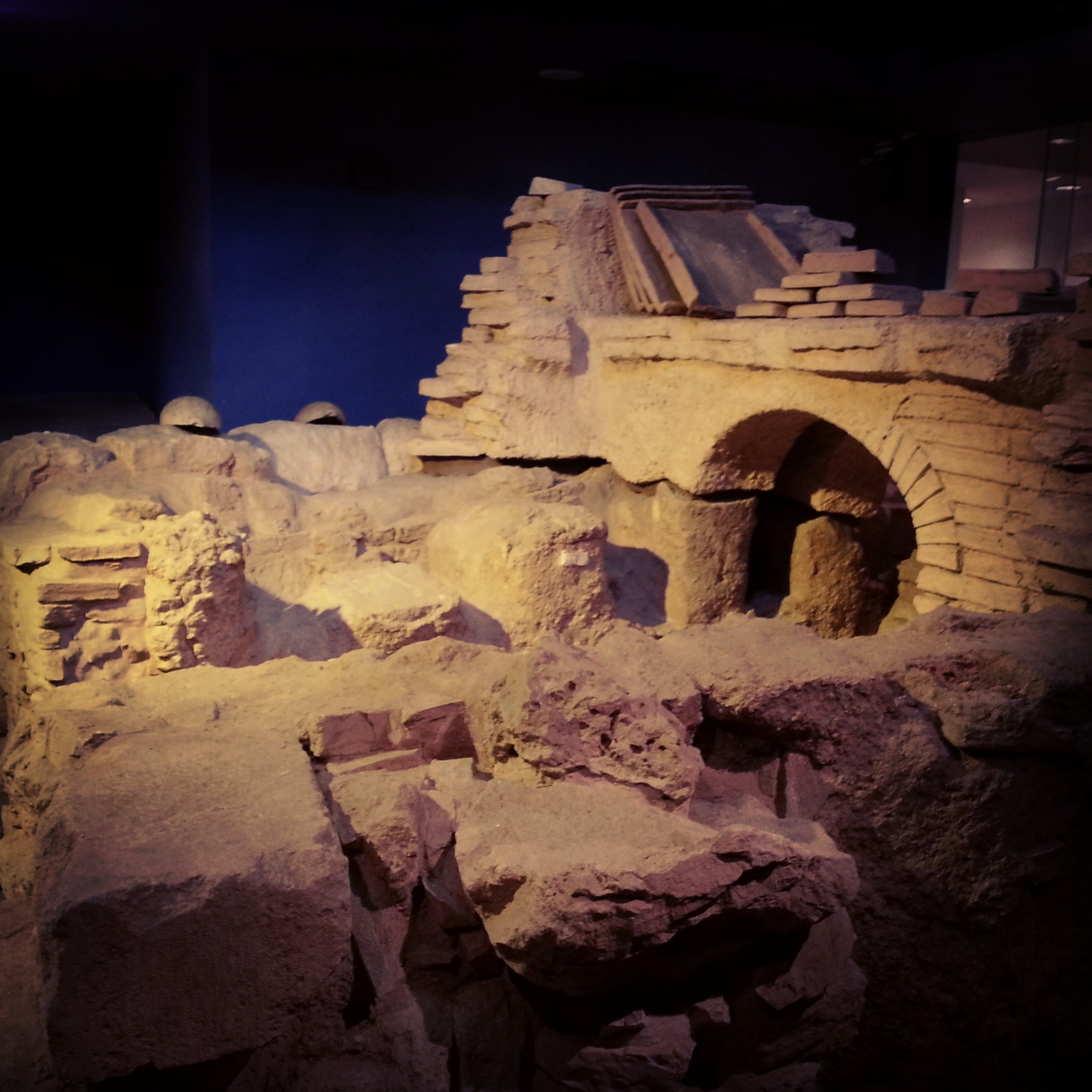 Roman Kiln at the Jerusalem ICC