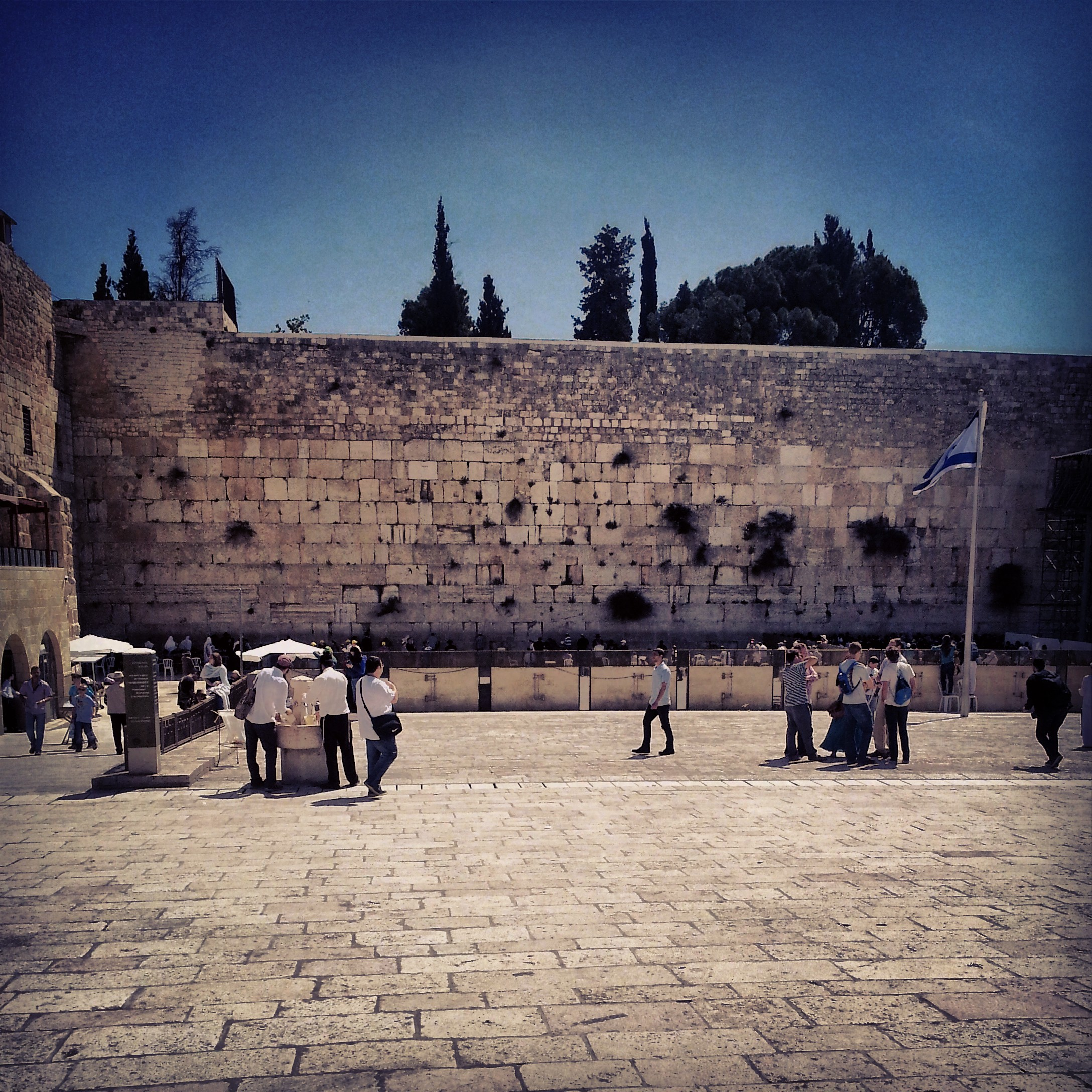 The Western Wall (the Kotel)