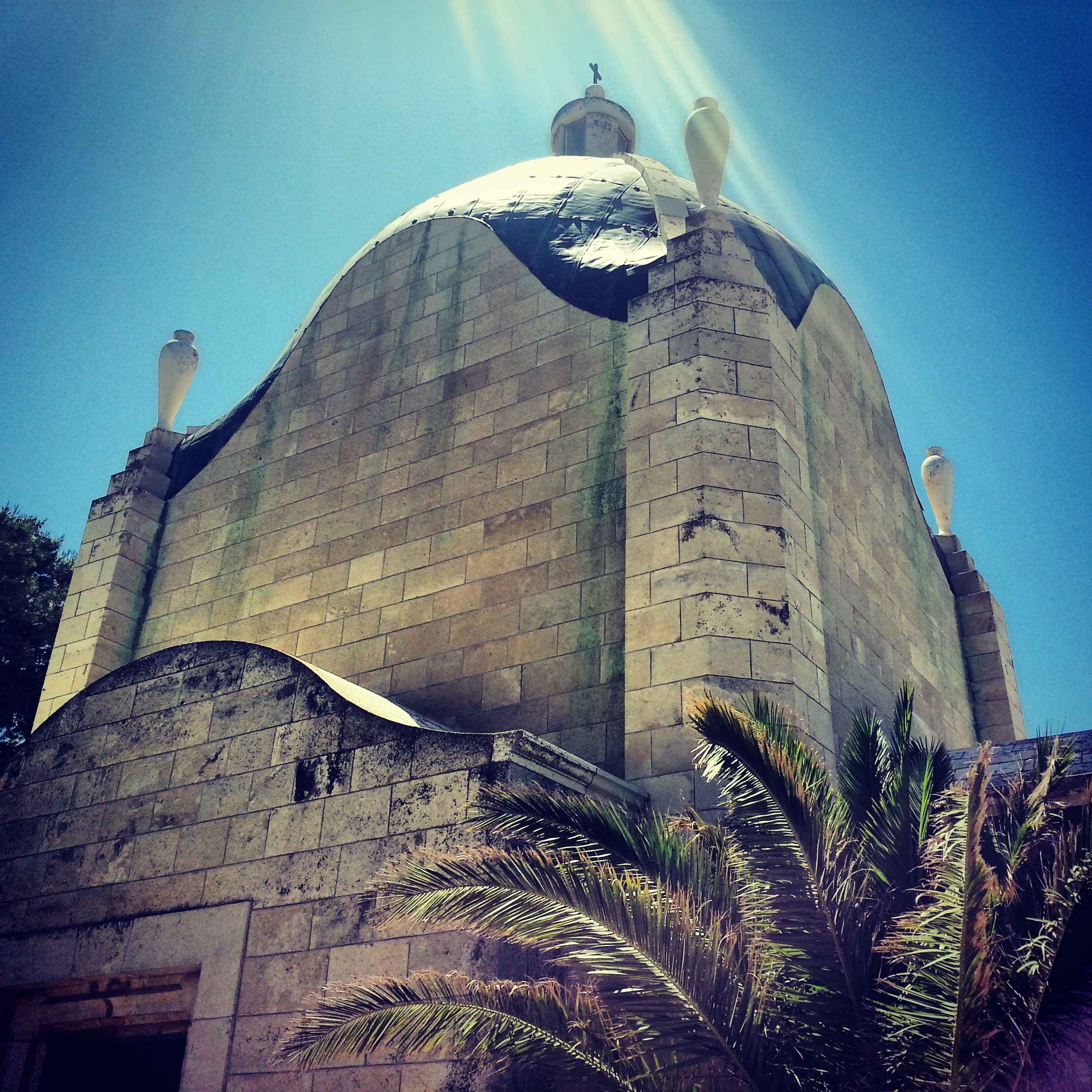 Church of Dominus Flevit on the Mount of Olives