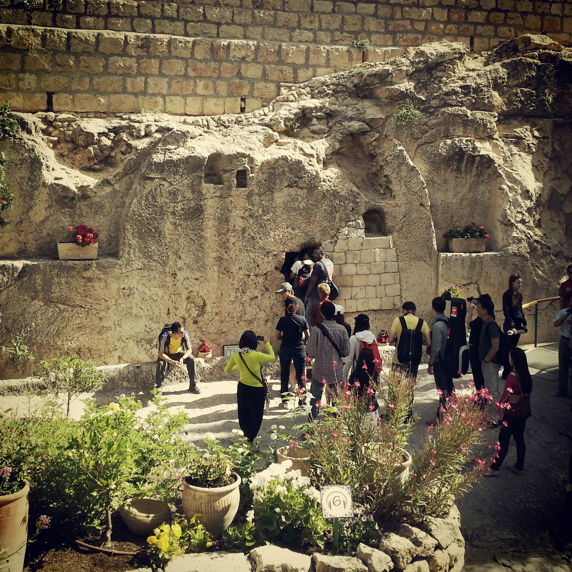 Burial Cave at The Garden Tomb, Jerusalem