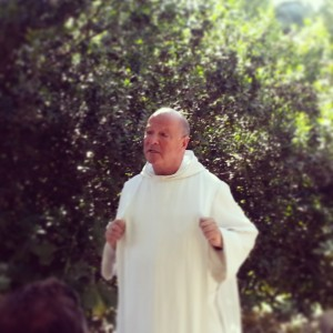 Olivier - the wonderful Benedictine monk in Abu Ghosh