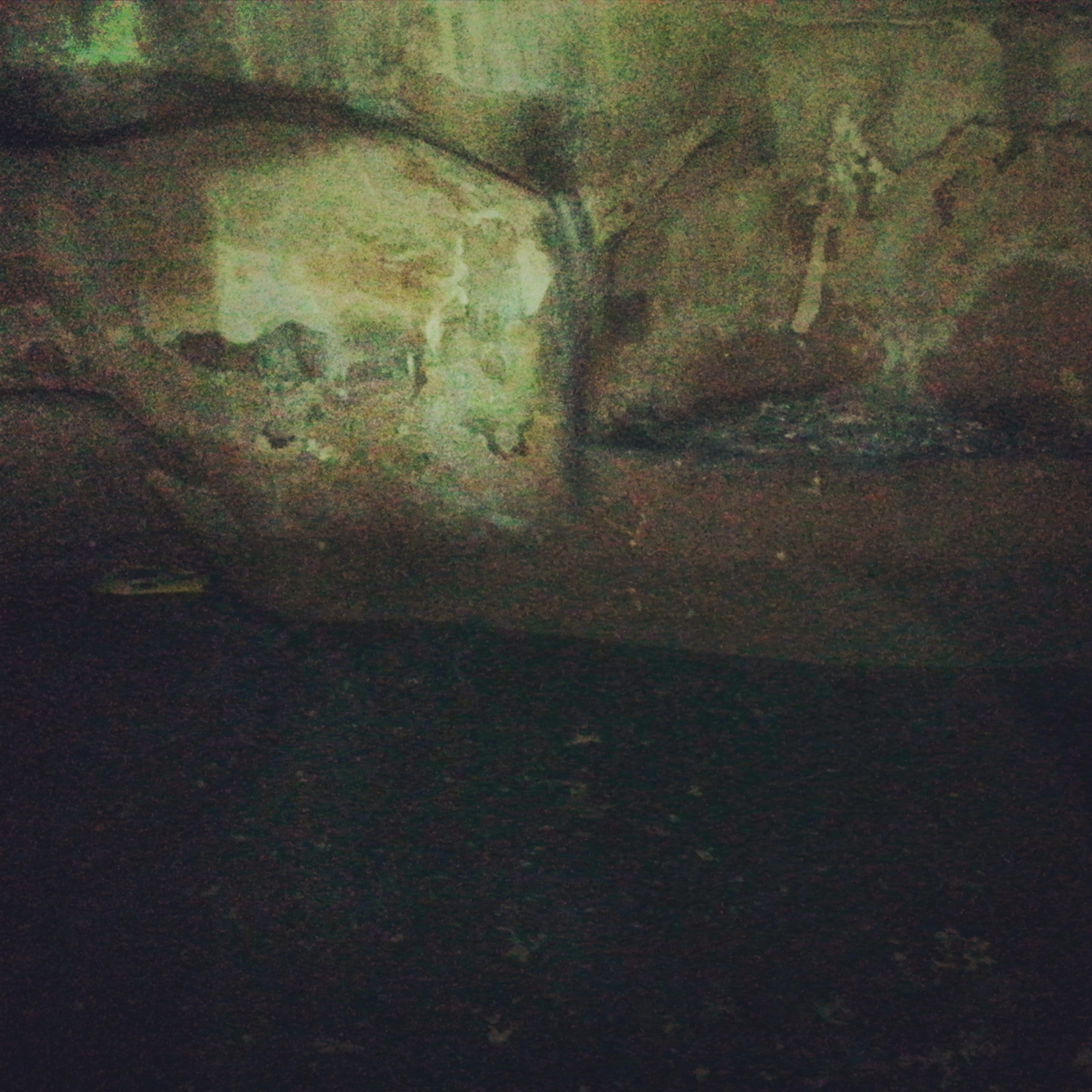 Inside the cistern under the Coptic Church of St Helen