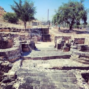 Roman city gate, Tiberias