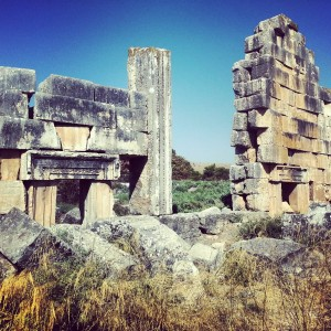 Roman Temple at Tel Kedesh