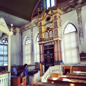 The old synagogue at Ness Tziona