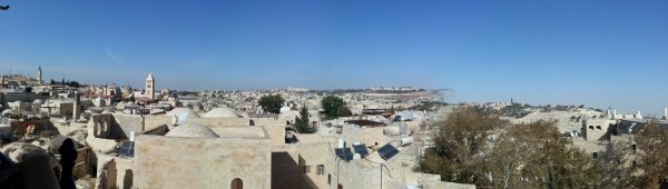 View from the top of the 'Hurva' Synagogue