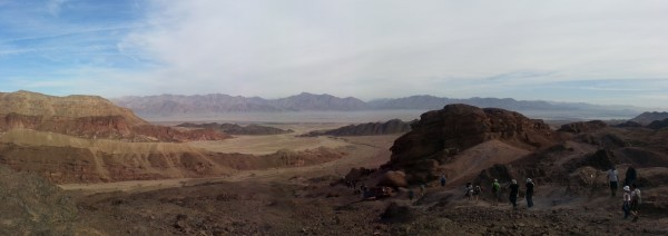 View after hiking through Canyon Shechoret